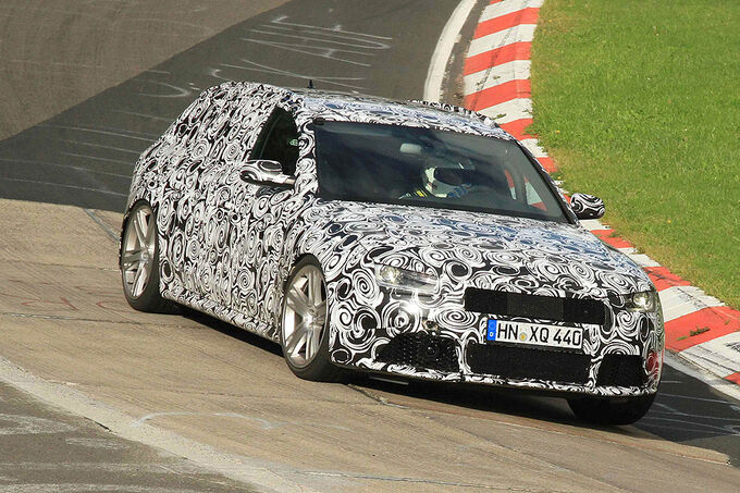 Audi RS4 Avant: Die neue Top-Variante des neuen Audi A4 erscheint im August.