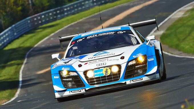 24h-Rennen Nrburgring 2013, Audi R8 LMS ultra , SP 9 GT3, #4