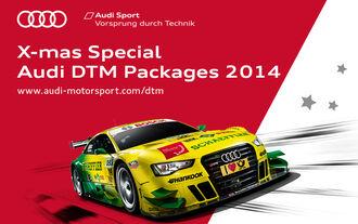 Adventskalender 2013, Produktbild Audi DTM