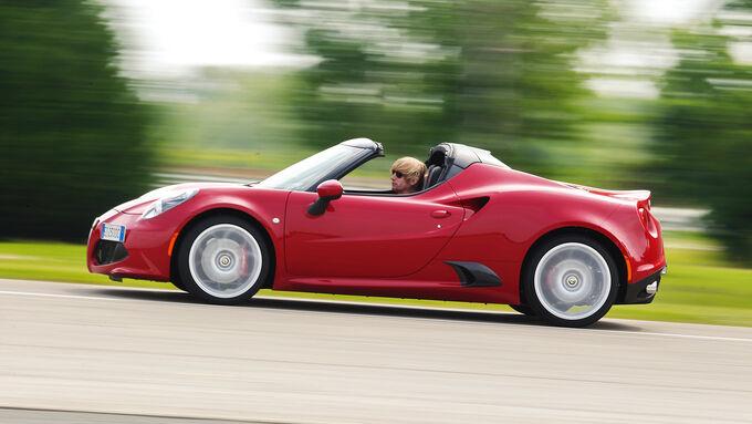 Alfa Romeo 4C Spider road test
