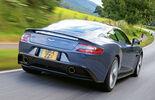 Aston Martin Vanquish, Heckansicht