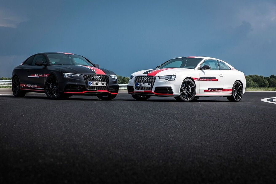 Audi RS5 Concept с дизельным мотором 3.0 TDI