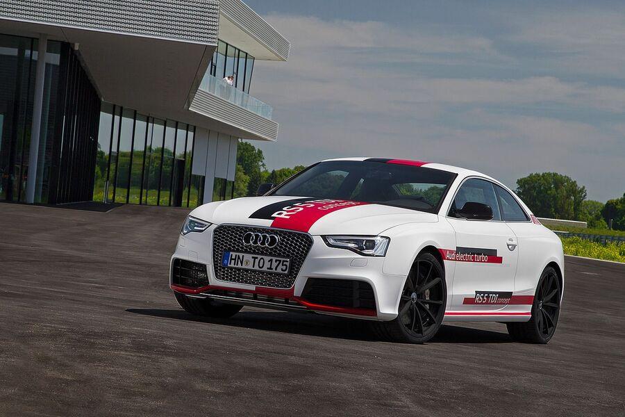 Дизельный концепт Audi RS5 TDI 2014 года