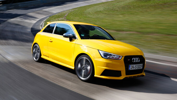 Audi S1, Front view
