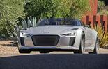 Audi e-tron Spyder, Front