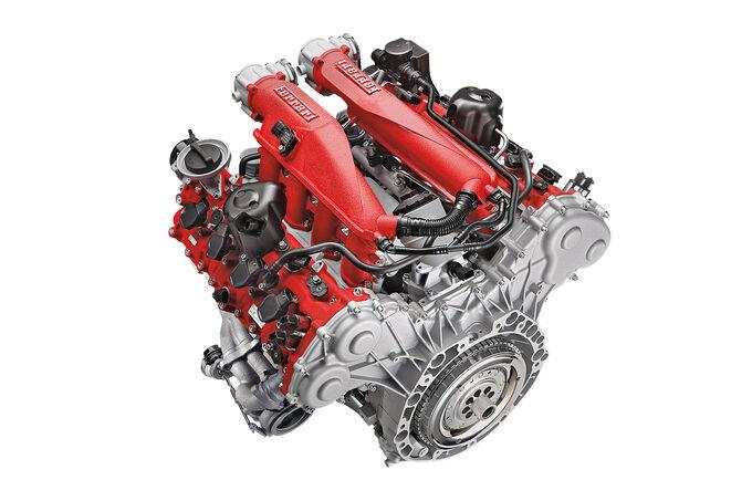 Aufladungskonzepte, SPA 10/15, Ferrari California T