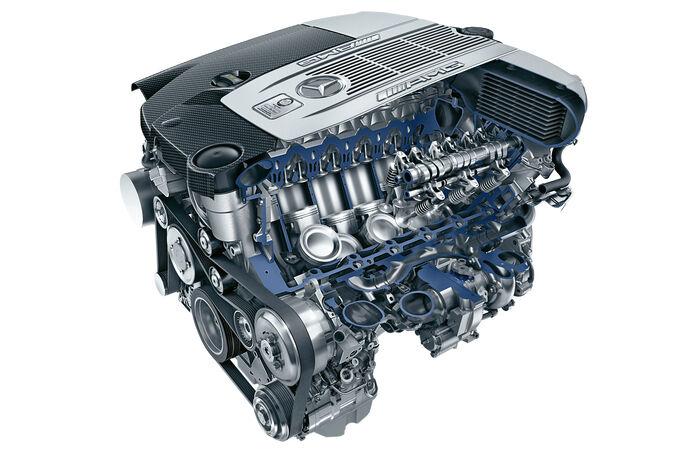Aufladungskonzepte, SPA 10/15, Mercedes S 65 AMG