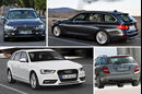 BMW 3er Touring, Audi A4 Avant, Mercedes C-Klasse T-Modell