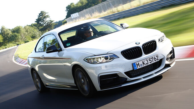 BMW M235i, Front view