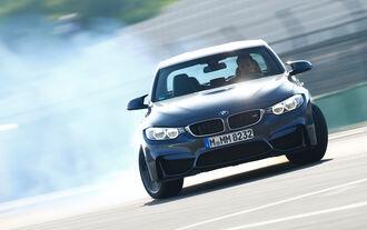 BMW M3 F80, Frontansicht, Driften