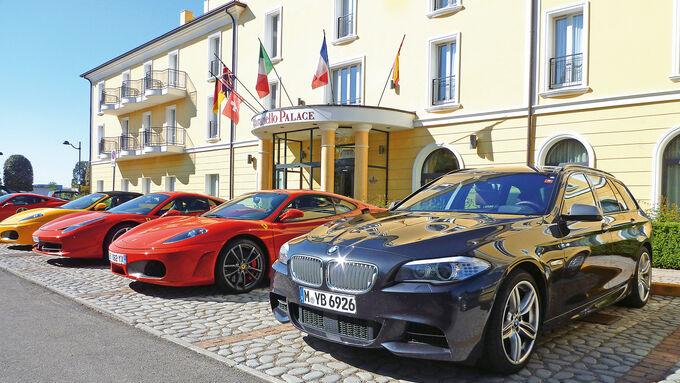BMW M550d xDrive Touring, Maranello