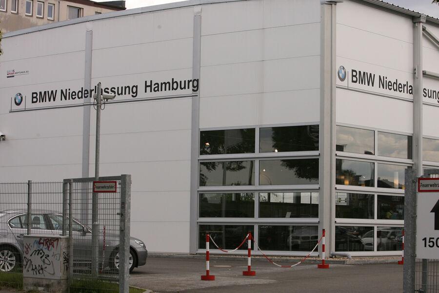 werkst tten test 2009 bmw niederlassung hamburg city s d seite 7 auto motor und sport. Black Bedroom Furniture Sets. Home Design Ideas