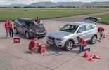 BMW X3 20d xDRIVE, Volvo XC60 D4 AWD, Test setup
