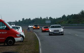 Beschleunigungs-und Bremsduell, Geschwindigkeitsoval Papenburg
