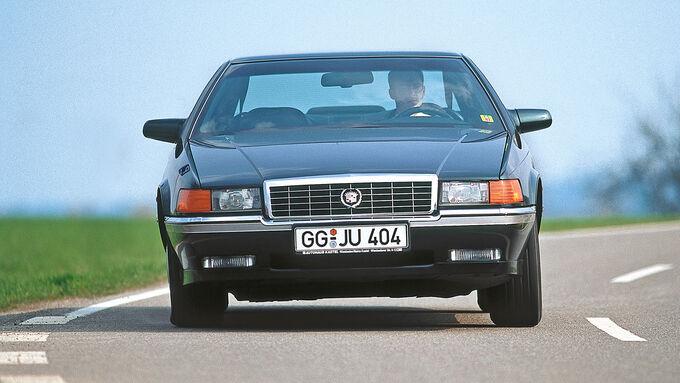 Cadillac Eldorado TC, Frontansicht