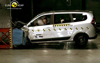 Dacia Lodgy Crashtest