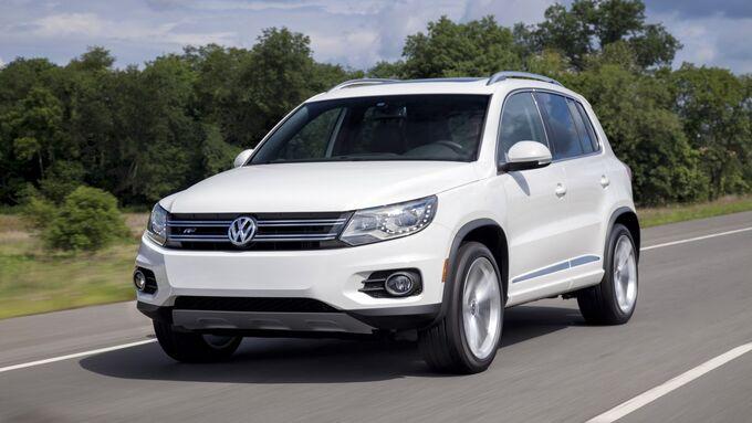 Die größere der beiden Rückrufaktionen betrifft den VW Tiguan.