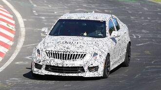 Erlkönig Cadillac ATS-V Limousine