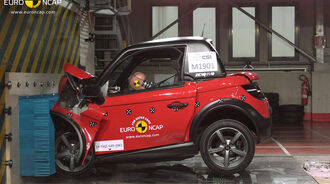 EuroNCAP Crashtest Tazzari Zero
