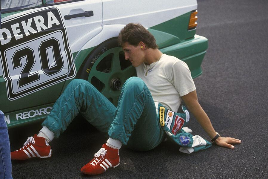 Михаэль Шумахер в DTM успеха не снискал