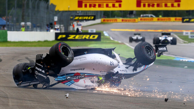 Hockenheim-Crash