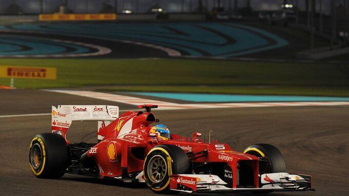 Fernando Alonso GP Abu Dhabi 2012