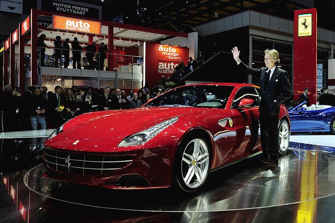 Ferrari FF, Luca di Montezemolo
