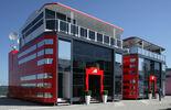 Ferrari Motorhome GP Türkei 2011