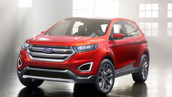 2014 ford edge gross vehicle weight