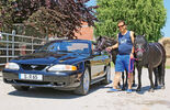 Ford Mustang V6, Frontansicht