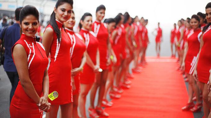 Formel 1-Girls - GP Indien 2012