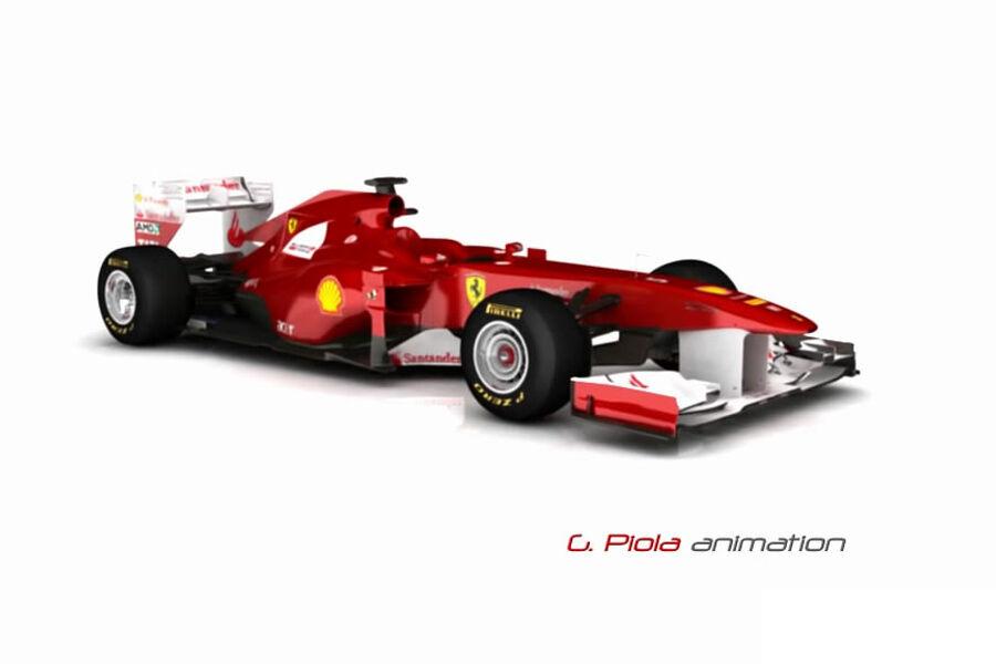 F1 technik exklusiv so sehen die formel 1 autos 2012 aus