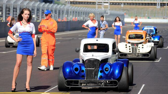 Generalprobe für die Formel 1