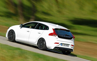 Heico Sportiv-Volvo V40 D3, Heckansicht