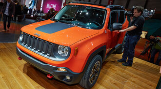 Jeep Renegade, Genfer Autosalon, Messe, 2014