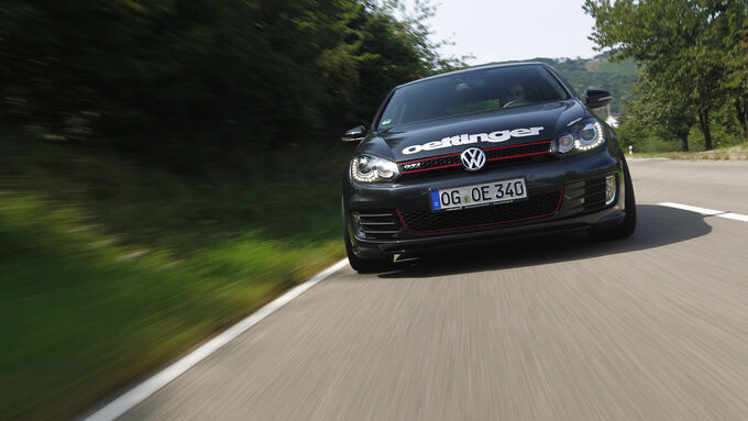 Kurztest: Oettinger-VW Golf GTI Edition 35, Front, SPA 10/2012