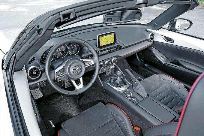 Mazda MX-5 Skyactiv-G 160, Cockpit