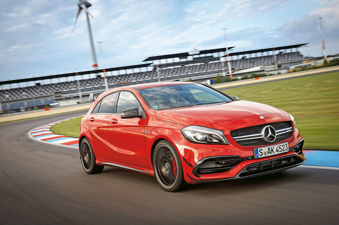 Mercedes-AMG A 45 - Fahrbericht - Lausitzring