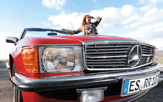 Mercedes-Benz 300 SL, Kühlergrill