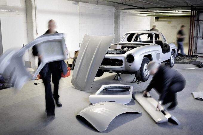 Mercedes-Benz 300 SL, Zerstörung Replica