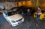 Mercedes C 63 AMG, Draufsicht