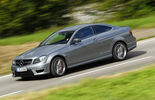 Mercedes C63 AMG Coupe Performance Package, Seitenansicht