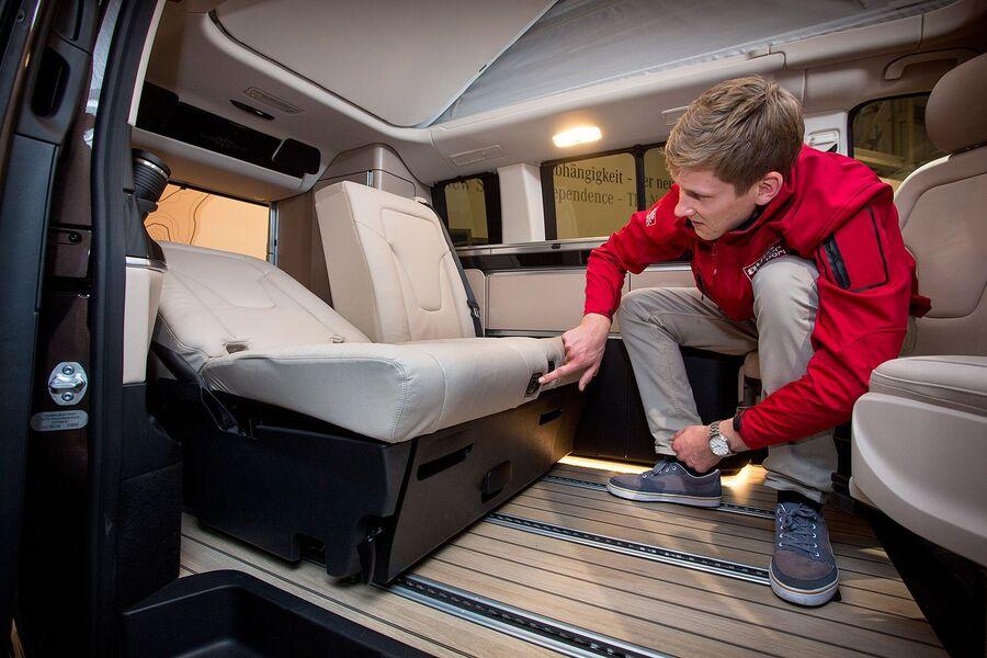 mercedes marco polo test sitting new v class based camper. Black Bedroom Furniture Sets. Home Design Ideas