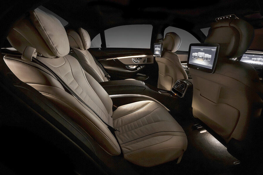 Moments this is the next s class interior mercedes cla for Mercedes s klasse interieur