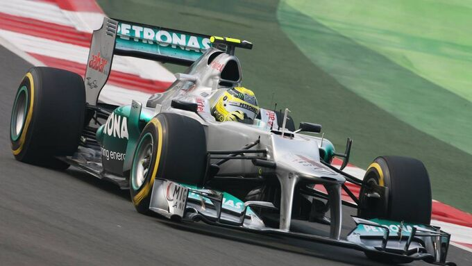 Motor Racing - Formula One World Championship - Indian Grand Prix - Qualifying Day - New Delhi, India