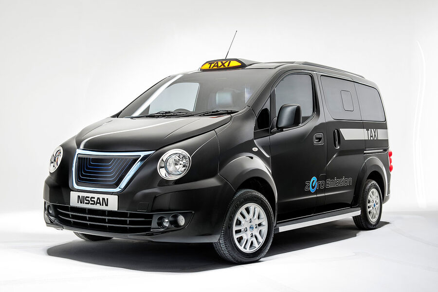 nissan london taxi optik im traditions look auto motor. Black Bedroom Furniture Sets. Home Design Ideas