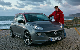 Opel Adam S, ams, Road test
