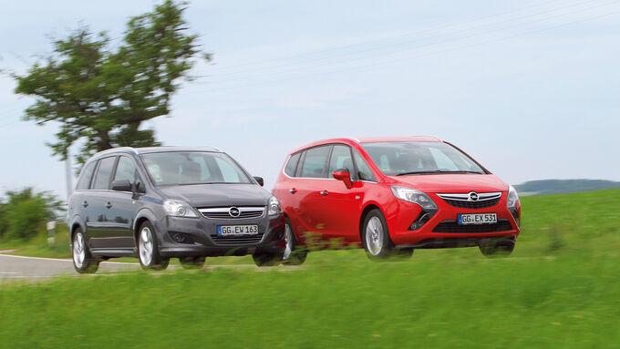 Opel Zafira Family, Opel Zafira Tourer, Frontansicht
