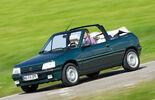 Peugeot 205 Cabrio, Seitenansicht
