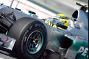 Pirelli Reifen hart GP Spanien 2012 Rosberg